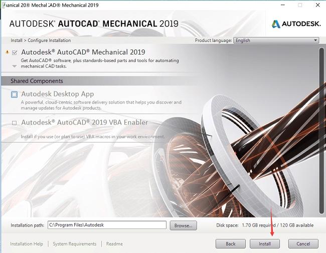 Autodesk AutoCAD 2019英文绿色版64位(附注册机/序列号和密钥)
