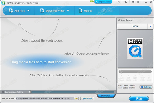 WonderFox HD Video Converter Factory Pro绿色破解版