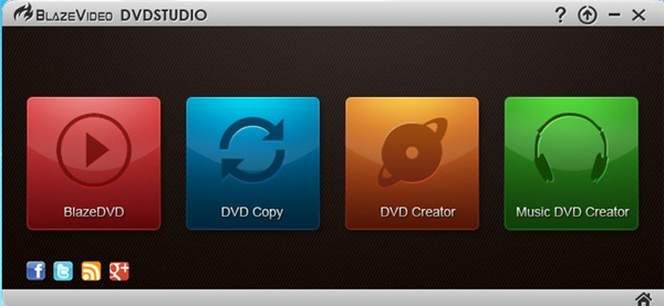 BlazeVideo DVD Studio(DVD制作工具箱)
