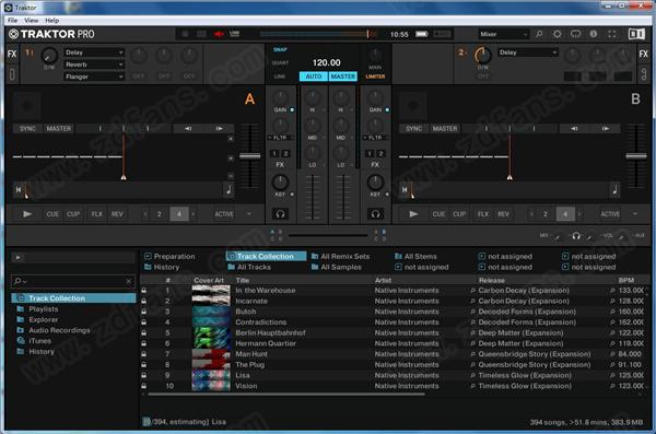 Traktor Pro 3(DJ音乐创建和混音软件)
