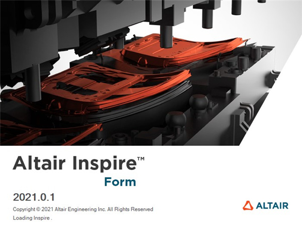 Altair Inspire Form 2021破解补丁