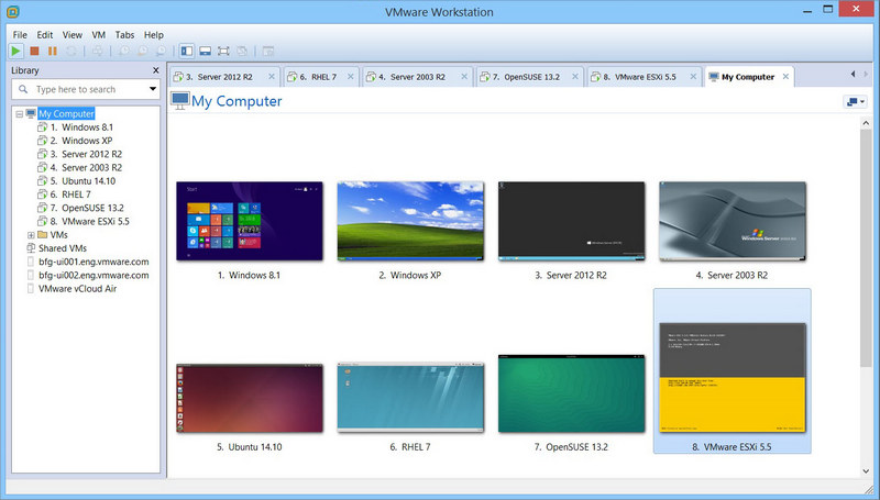 VMware-Workstation-11-Unmatched-OS-Support