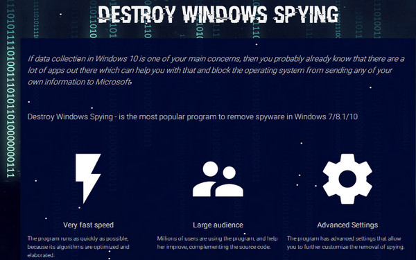 DWS_Lite,Win10间谍杀手,Destroy Windows 10 Spying,DWS Lite,Windows 10强偷隐私,Win10 Spy Disabler,win10隐私,windows10隐私,windows10小工具,win10防偷窥工具