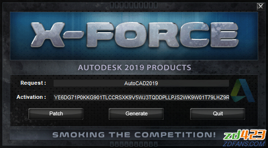 Autodesk Products KeyGen 2019 XFORCE